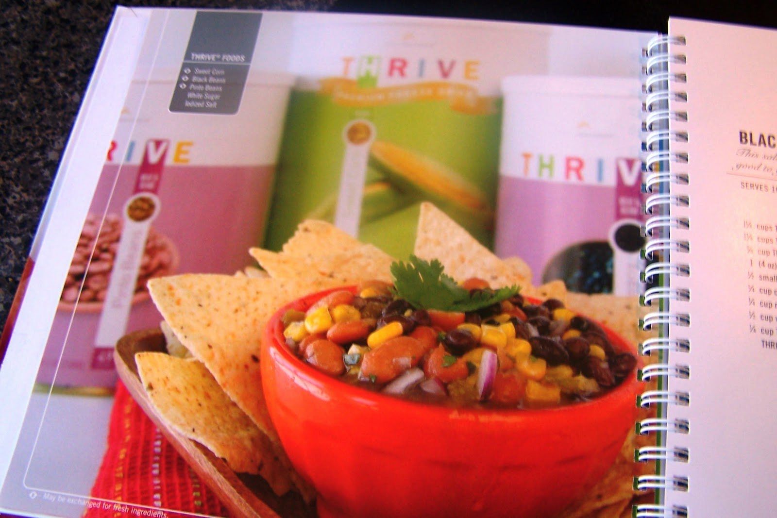 Cookbook nook archives mormon mavens i recently ordered their new cookbook which is fully titled thrive cookbook food that fits your lifestyle i like the sound of that dont you forumfinder Choice Image