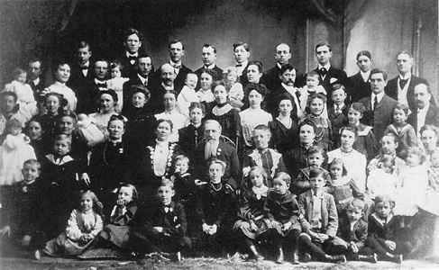 Polygamous Family
