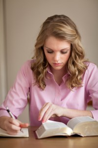 studying scriptures