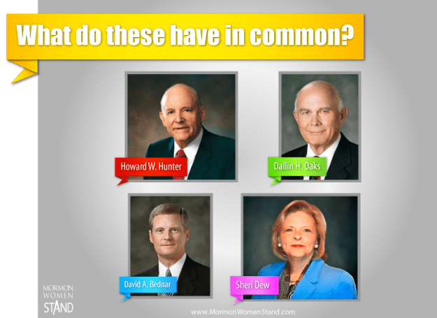 What do these Church leaders have in common?
