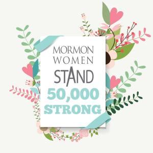 mormon women stand