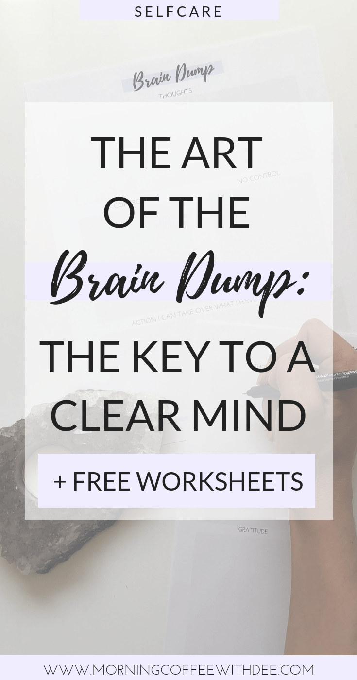photo about Brain Dump Worksheet identified as How towards do a Thoughts Dump for Emotional Self Treatment + Absolutely free