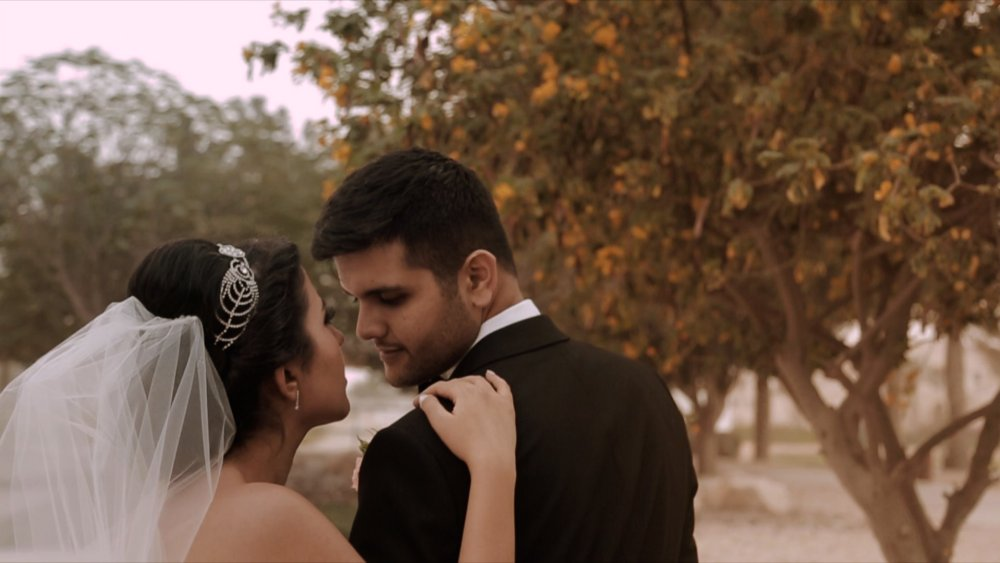 Persian Wedding - Bride and Groom - Dubai Polo Equestrian Club Romantic Wedding - Morning Jacket Films