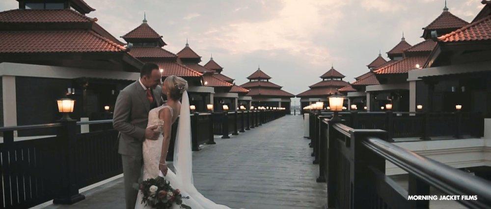 Anantara The Palm Dubai Beach Wedding Videographer