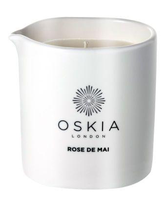 Oskia Rose de Mai Massage Candle: £36, Space NK