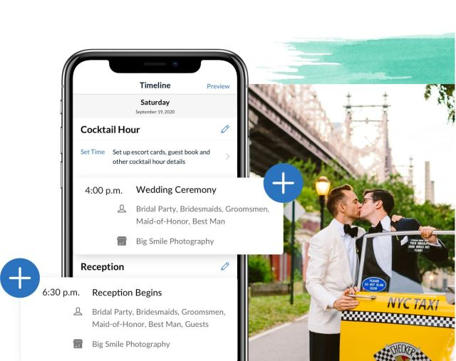 knot wedding app