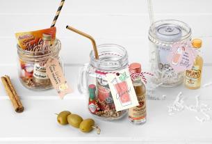 cocktails jars