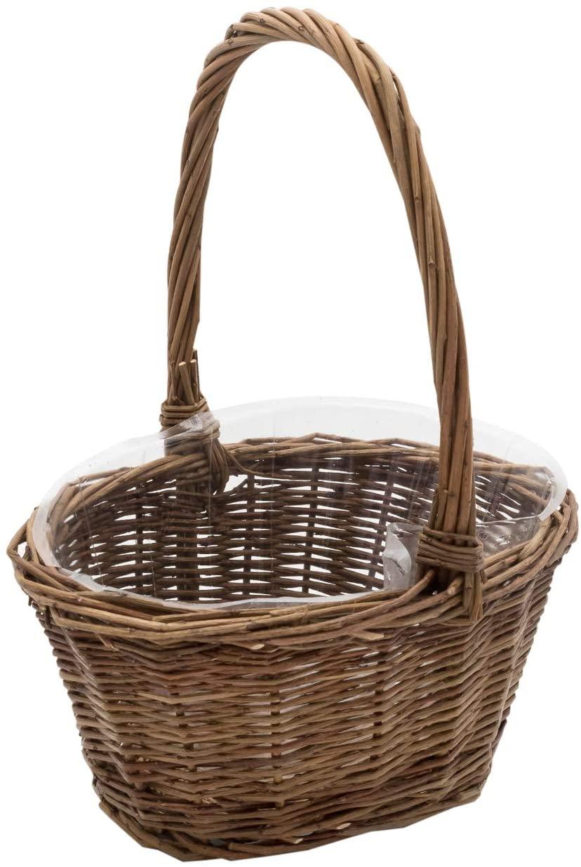 Willow Handwoven Easter Basket