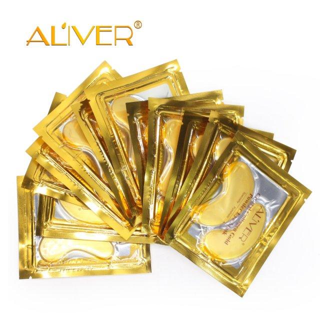 25 Pairs Gold Eye Mask Power Crystal Gel Collagen Masks