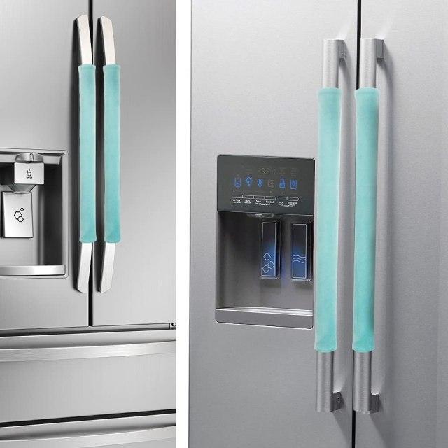 Nuovoware Refrigerator Door Handle Covers Set of 4