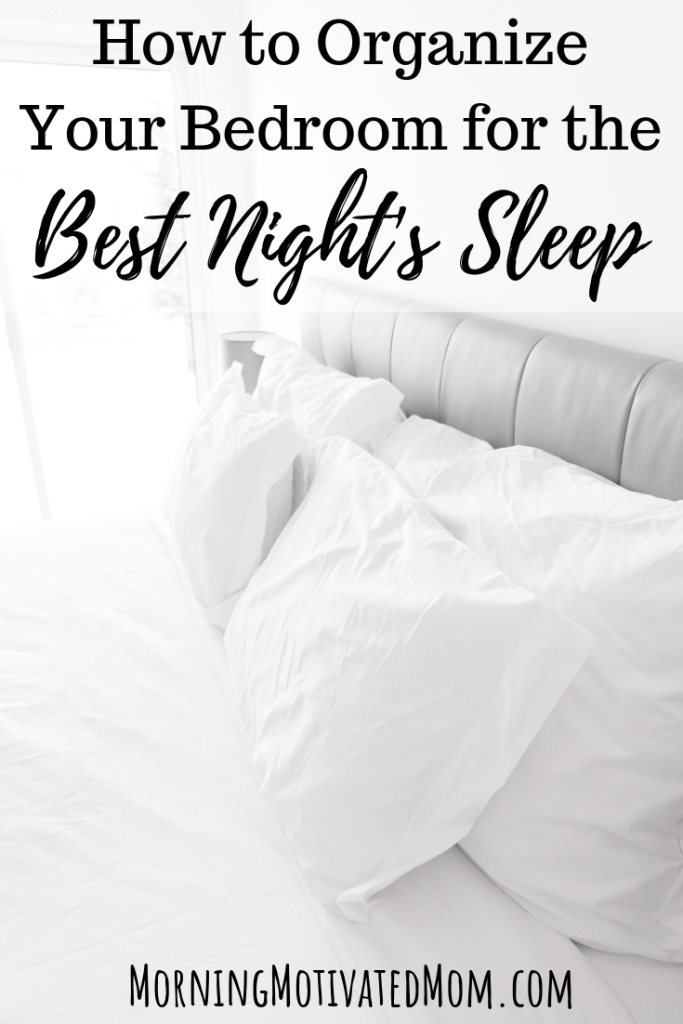 Sleep is so important to your health! Do you find yourself restless and struggle to get to sleep? Maybe start with creating a great sleeping environment. How to Organize Your Bedroom for the Best Night's Sleep