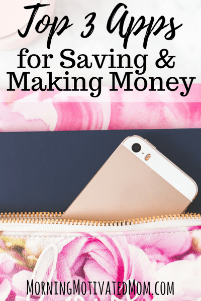 Top 3 Apps for Saving and Making Money. Ibotta, Cartwheel, Field Agent