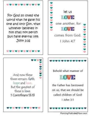 Valentine Bible Verse Printable