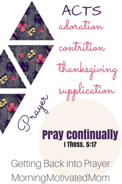 Pray Continually 1 Thessalonians 5:17