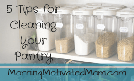 5 Tips for Cleaning Your Pantry