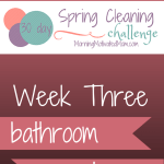 30 Day Spring Cleaning Challenge – Week 3 and Vitacost