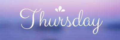 Thursday Linkups