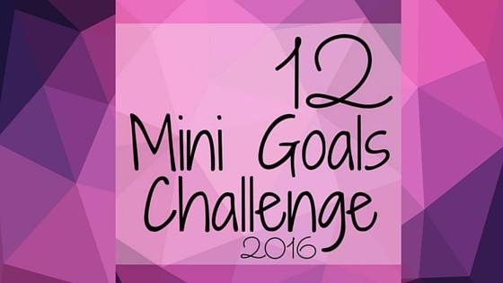 12 Mini Goals Challenge 2016