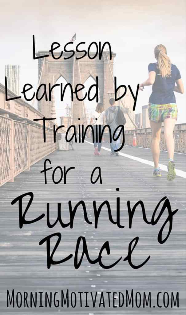 Lesson Learned by Training for a Running Race. I almost didn't sign up for my usual fall race, until I realized what message that would send to my daughters.