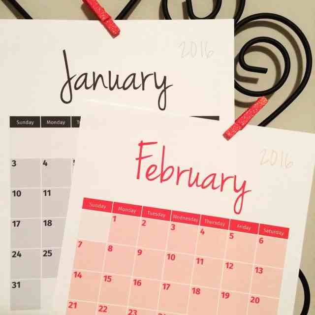 Tuesday Talk & Learning Adobe InDesign. 2016 Calendar sneak peek.