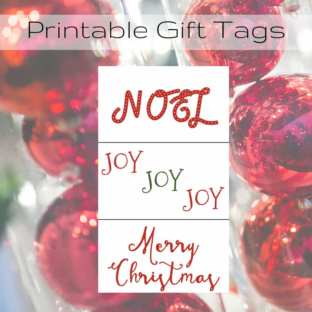 Merry Christmas Gift Tags Printable – Morning Motivated Mom