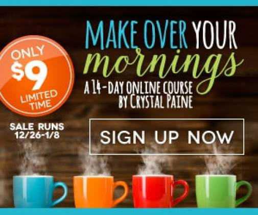 Make Over Your Mornings $9 Sale