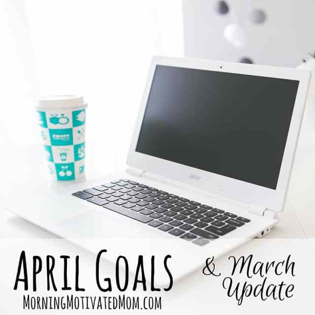 Monthly Goals - April - Monthly Goalsetting.