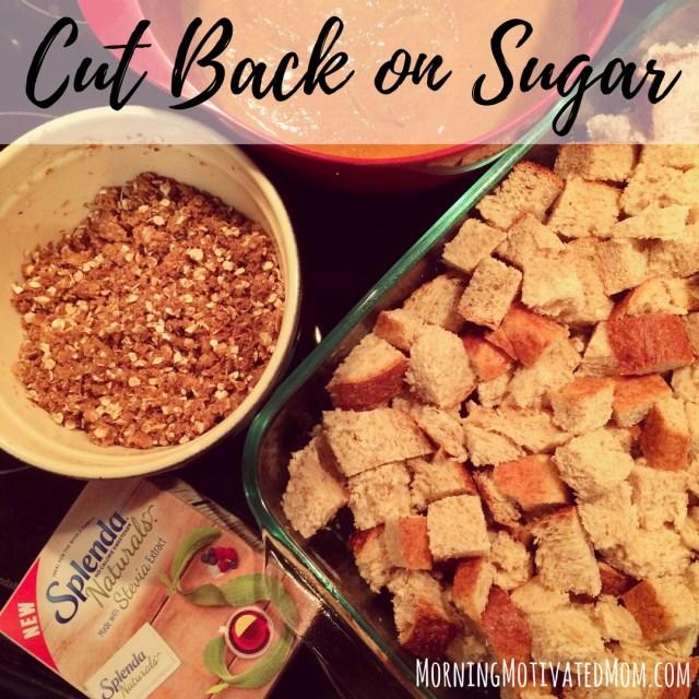 Cut Back on Sugar