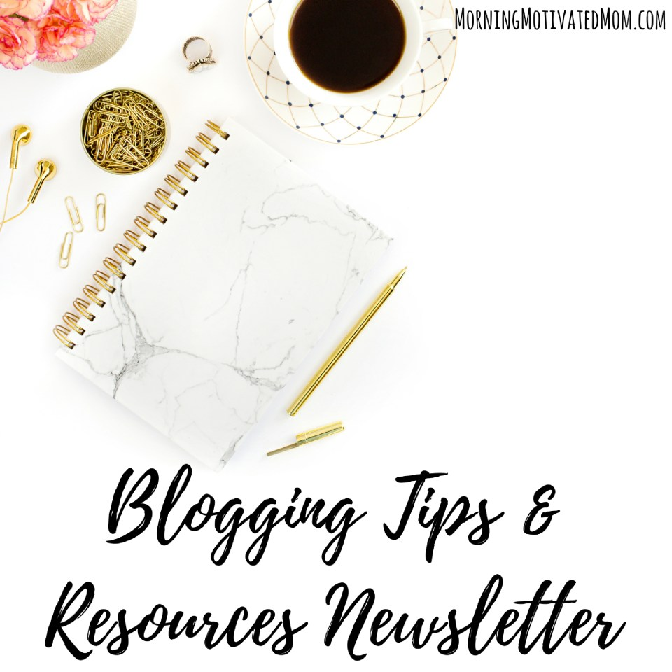 blogging-tips-and-resources-newsletter