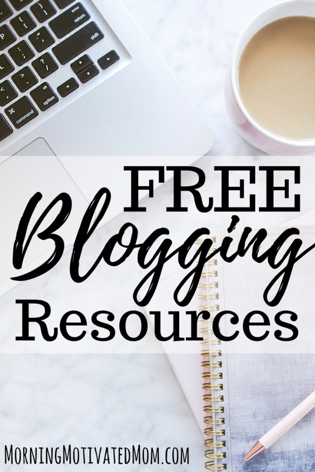 Free Blogging Resources. Start your blog or grow your blog with these free blogging resources!