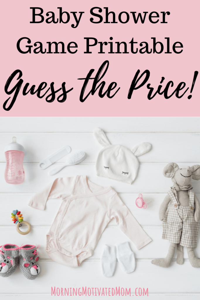 Free Baby Shower Printable. Guess the Price. This baby girl shower game is perfect for after the baby has arrived. Have the guest guest the price of the baby items. See who gets the closest!