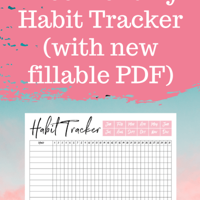 Monthly Habit Tracker Printable