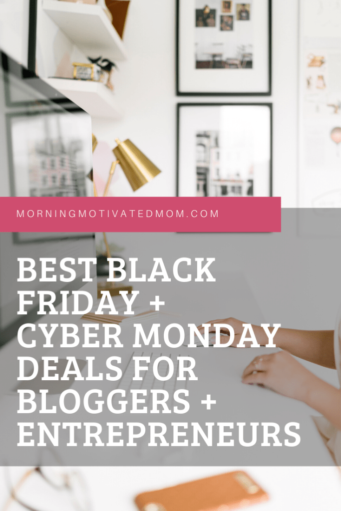 Here are some of the best deals for bloggers and entrepreneurs. The time around Black Friday and Cyber Monday can be a great time to grab a deal for your blog or business. Check out this list!