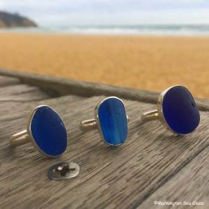 Mornington Sea Glass English Sea Glass Rings