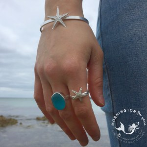 Mornington Sea Glass Silver Cast Under the Pier Collection