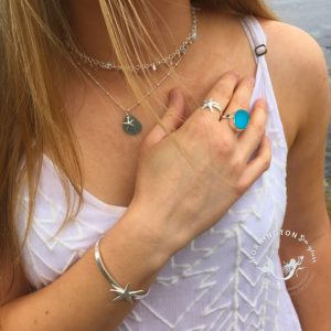 Mornington Sea Glass Beach Boho Necklet