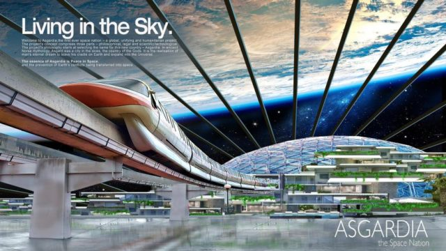 500,000 Apply for Citizenship in Utopian 'Space Nation' Asgardia