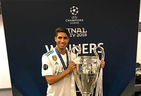 Image result for achraf hakimi+champions league
