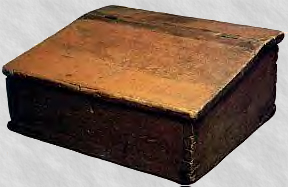 box that held the gold plates