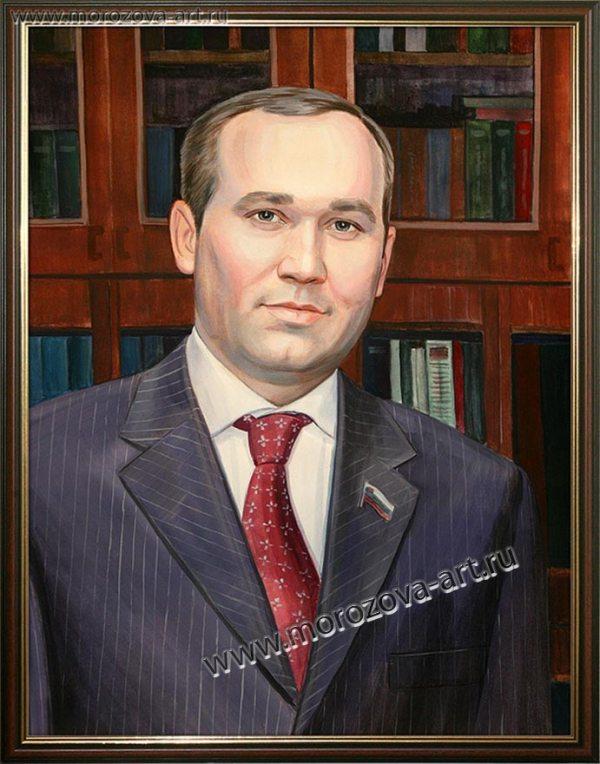 Портрет российского политика для кабинета, портреты на заказ