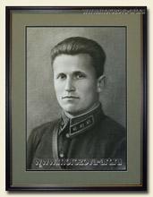 Заказ портрета мужчины в технике сухая кисть, мужские ...