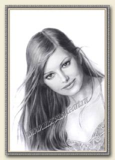 Заказать графический портрет сухой кистью, карандашом ...