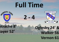 Match Report   Morpeth Town 2 – 4 Cleethorpes Town