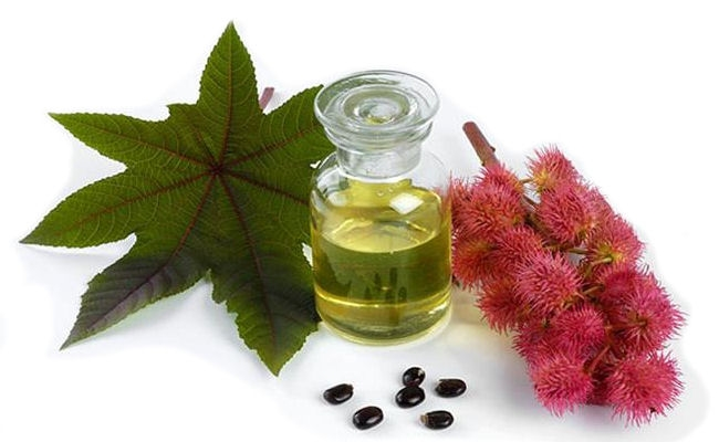 Massage with castor oil