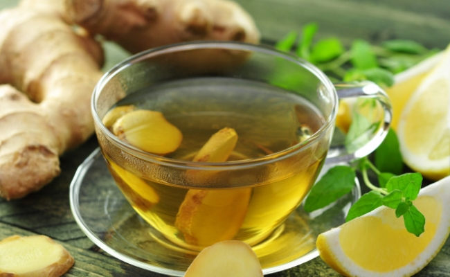 Ginger Tea - Top 8 Home Remedies To Lose Stomach Fat Naturally