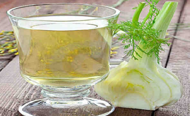 Drink fennel tea