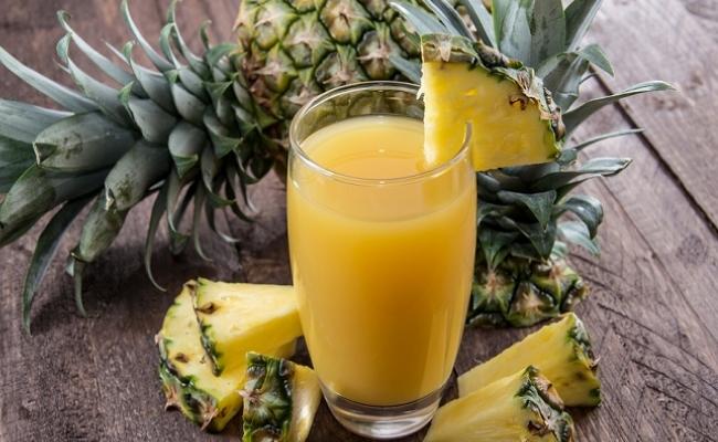 Drink pineapple juice