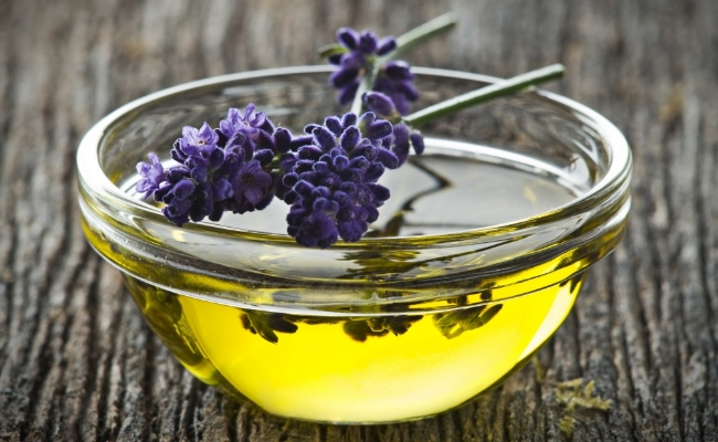 Treatment with lavender oil