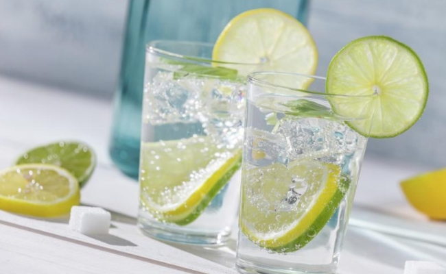 Club Soda And Lime