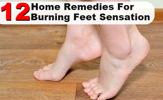 burning sensation in feet treatment